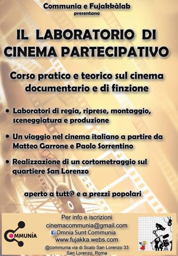 laboratorio cinema partecipativo
