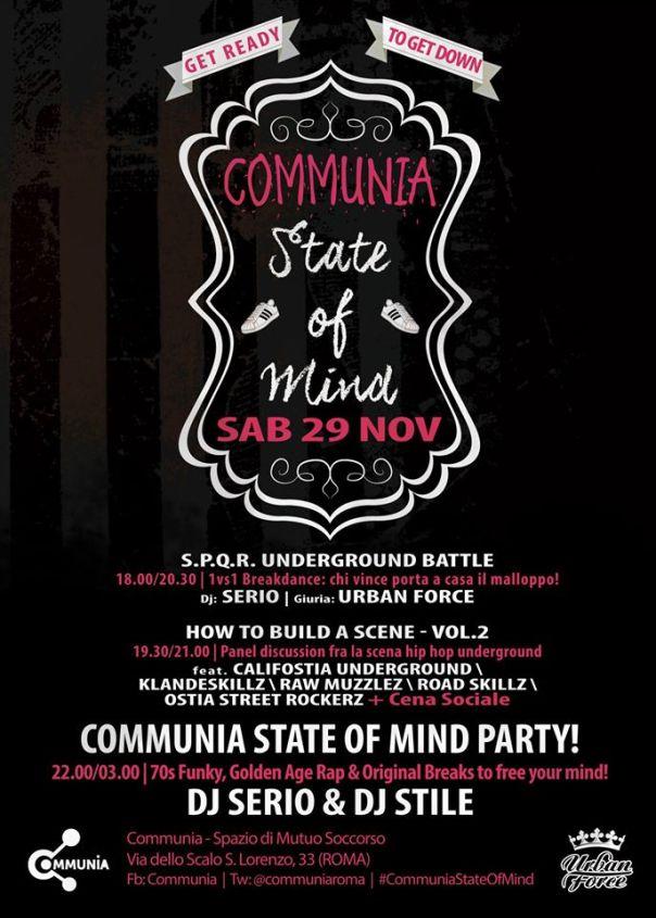 Communia State Of Mind Vol-II