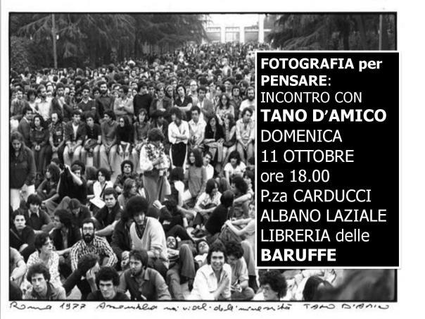 Tano d Amico ad Albano 11 ottobre 2015